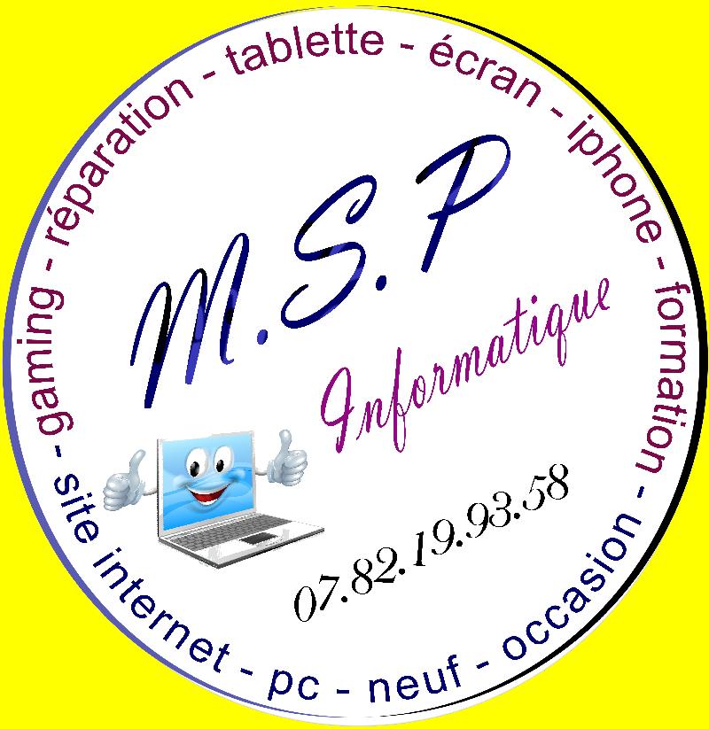 MSP Informatique réparation vente PC au Guilvinec, Loctudy, pont l'abbé